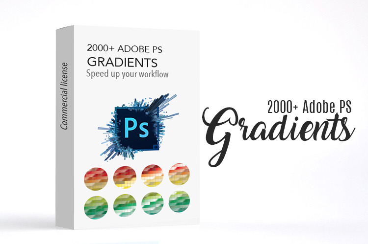 adobe Photoshop get 2,000+ Photoshop Gradients