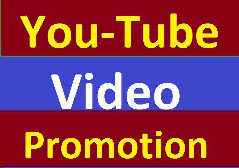 YouTube Video Promotion With Real Visitors