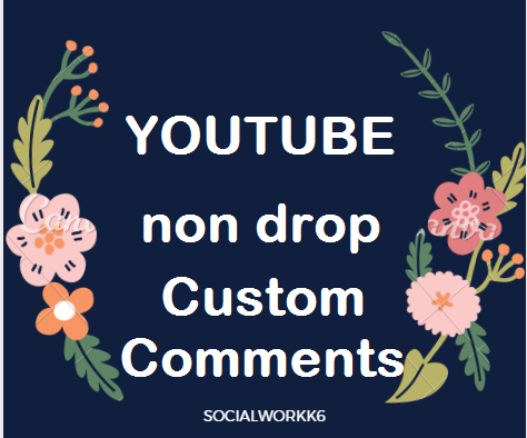HQ 18 Real Custom Comments Channel from USA,France And Worldwide Delivery Within 2-8 hours