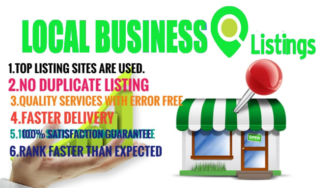 I will Do Manually TOP 60 Live CA/UK/US/AU Local Citations for Local SEO. Satisfaction Guaranteed!!