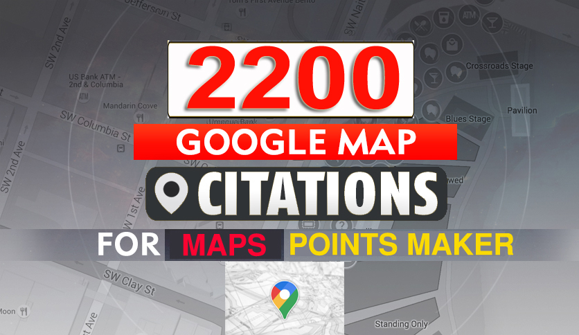 I Will Create Manually 2,200 Google Maps Points Citations for local SEO