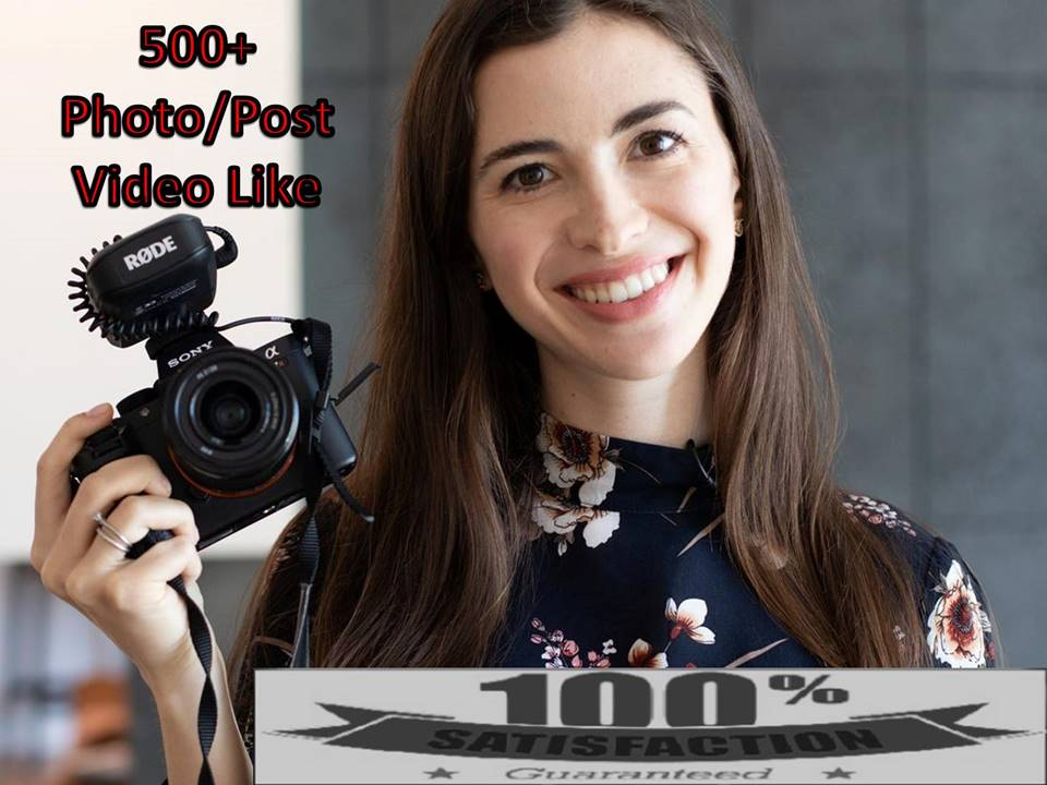500+ Instant Likes In Pic Or 5,000 Video View Social media Marketing