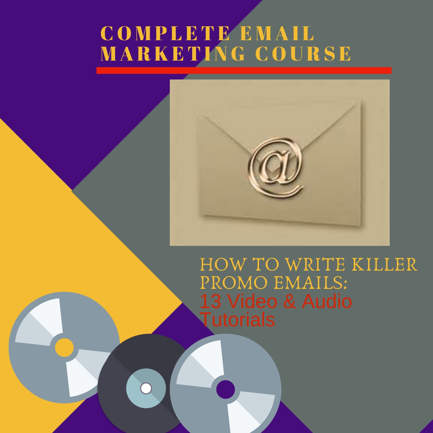 I WILL PROVIDE YOU A COMPLETE EMAIL MARKETING COURSE