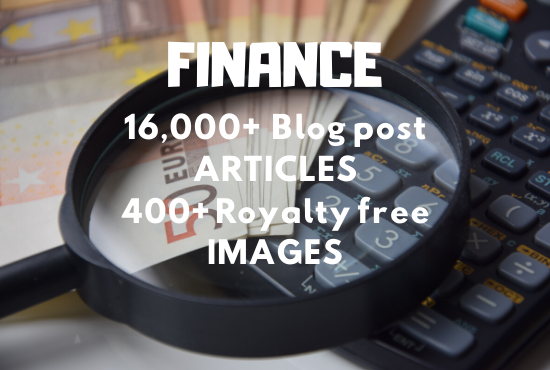 16000+ Articles and 400+ Royalty free Images for FINANCE topic