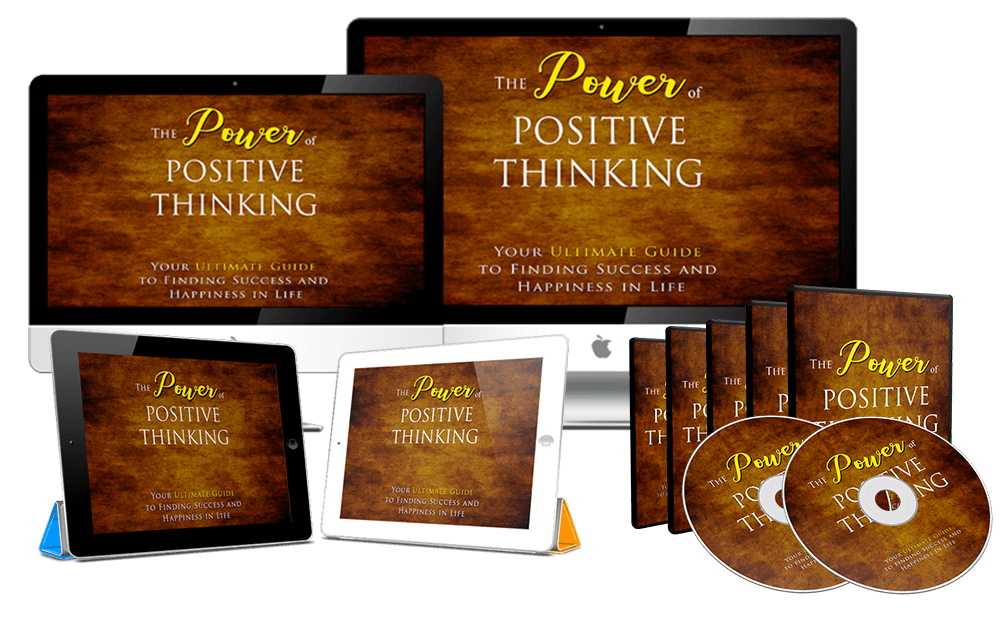 The Power Of Positive Thinking,  Video Course & Reselling Tools