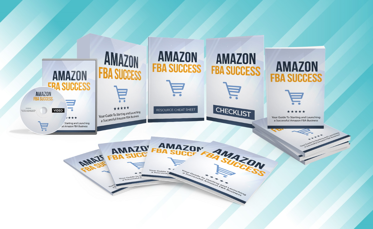 Amazon FBA Success,  Video Course & Reselling Rights Instant Download