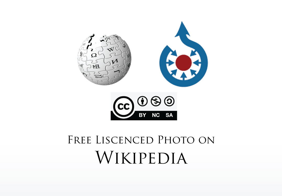 I will add photo on wikipedia without any copyright claim
