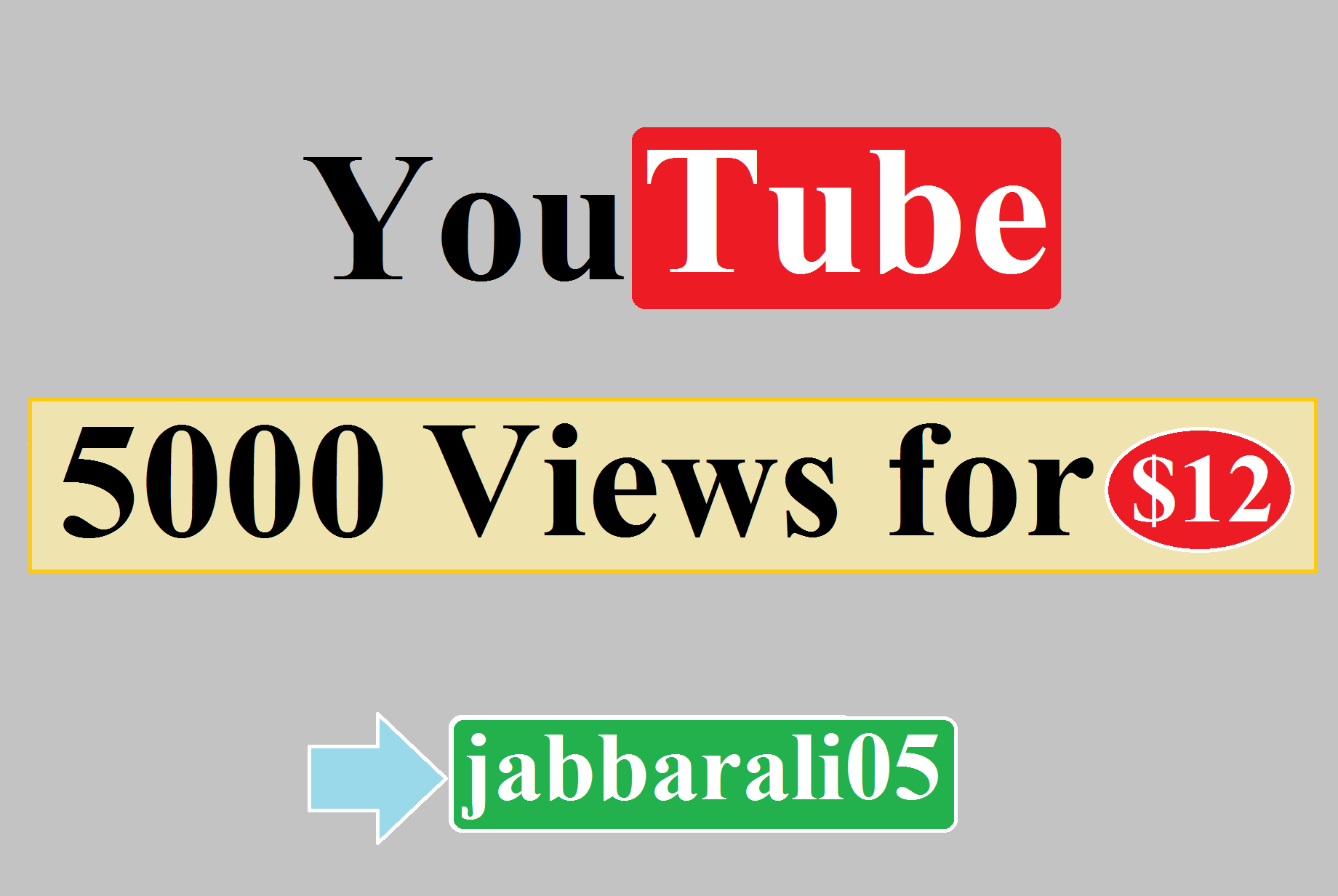 GET YOUTUBE VlEWS FOR YOUR VIDEO PROMOTION