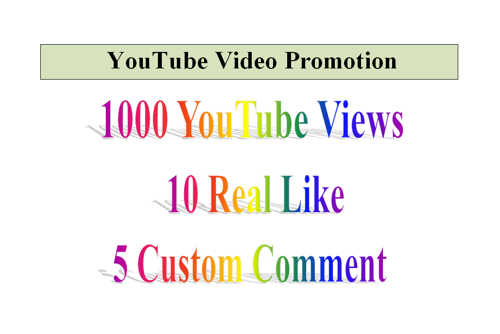 YouTube Video Worldwide Promotion