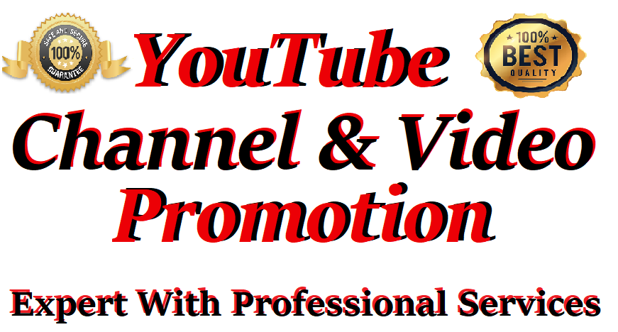 HQ Package YouTube Video Promotion Social Media Marketing