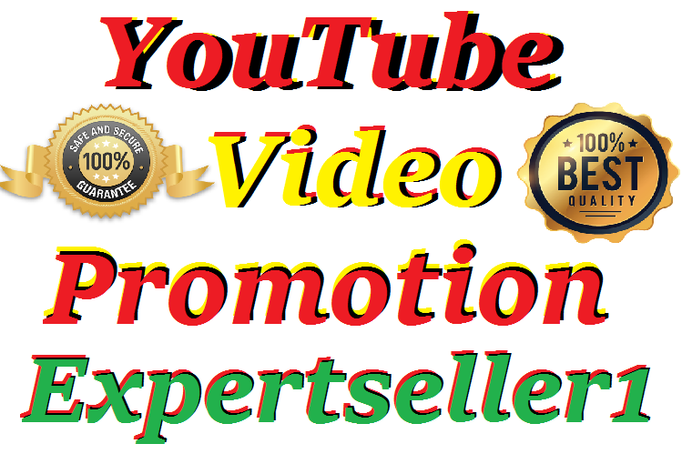 HQ Natural Safe And Secure YouTube Video Promotion Social Media Marketing