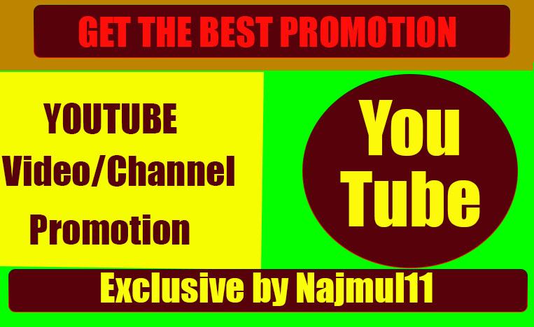 Get the Best Promotion for YouTube Via Social Media Marketing