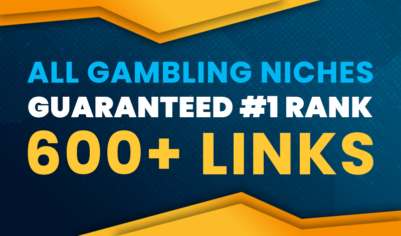 Guaranteed 1st Page of Your Gambling Website for 5 Keywords