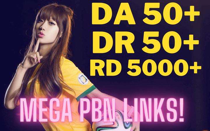 Guaranteed 15 DA/DR 50+ PBN Links to Rank 1
