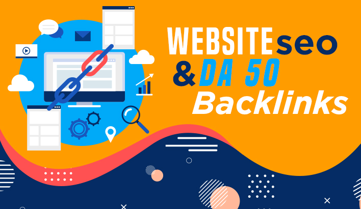 create 10 high authority seo backlinks from DA 50