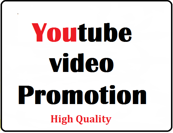 YouTube Video Promotion All In One Service Fast Delivery