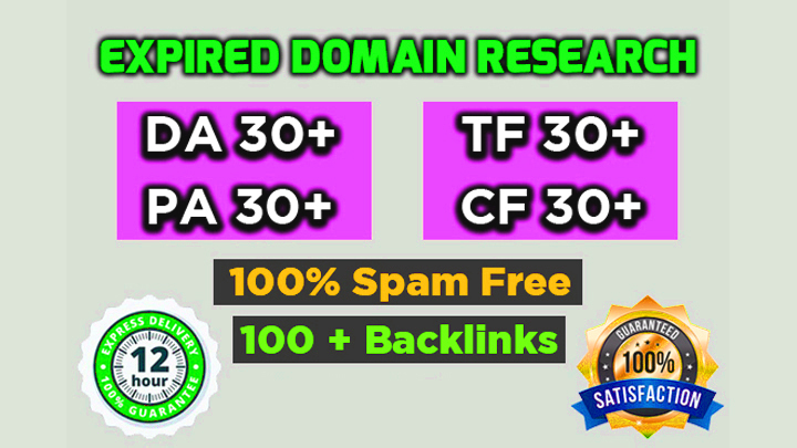 5 High quality expired domain Research With Powerful Metrics For PBNs or Money Sites