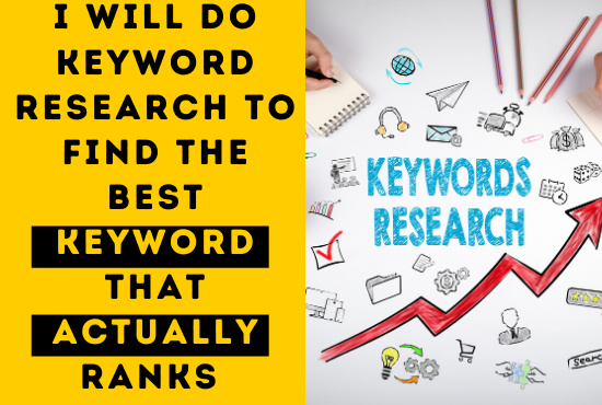 I will do keyword research that actually ranks within 24 hours