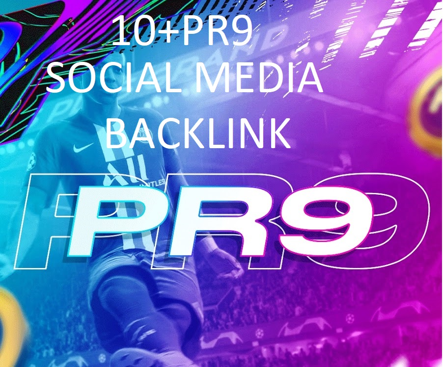 GET 15+ Social media Backlink In your Web site