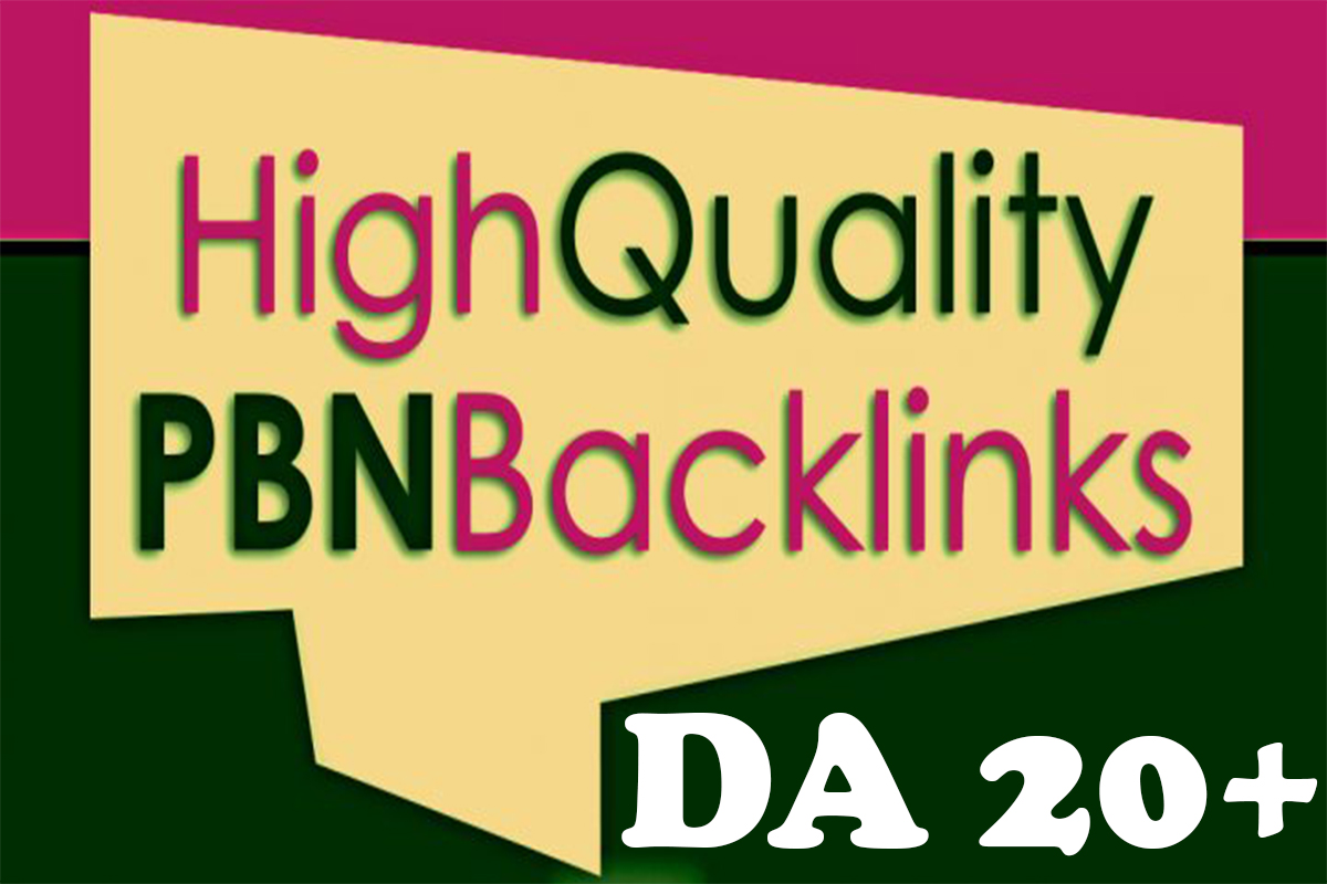 Create 550 PBNs Post High DA/PA Homepage Powerful Pbn Backlinks