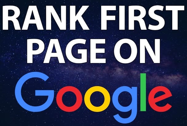 Rank your website on Google 1st page guaranteed monthly SEO service