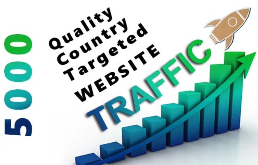5000 country targeted traffic (you choose country)