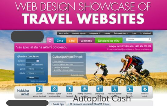 Create Professional Travel website