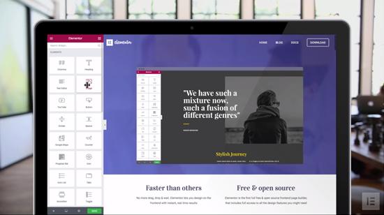 Wordpress Website builder and customiser