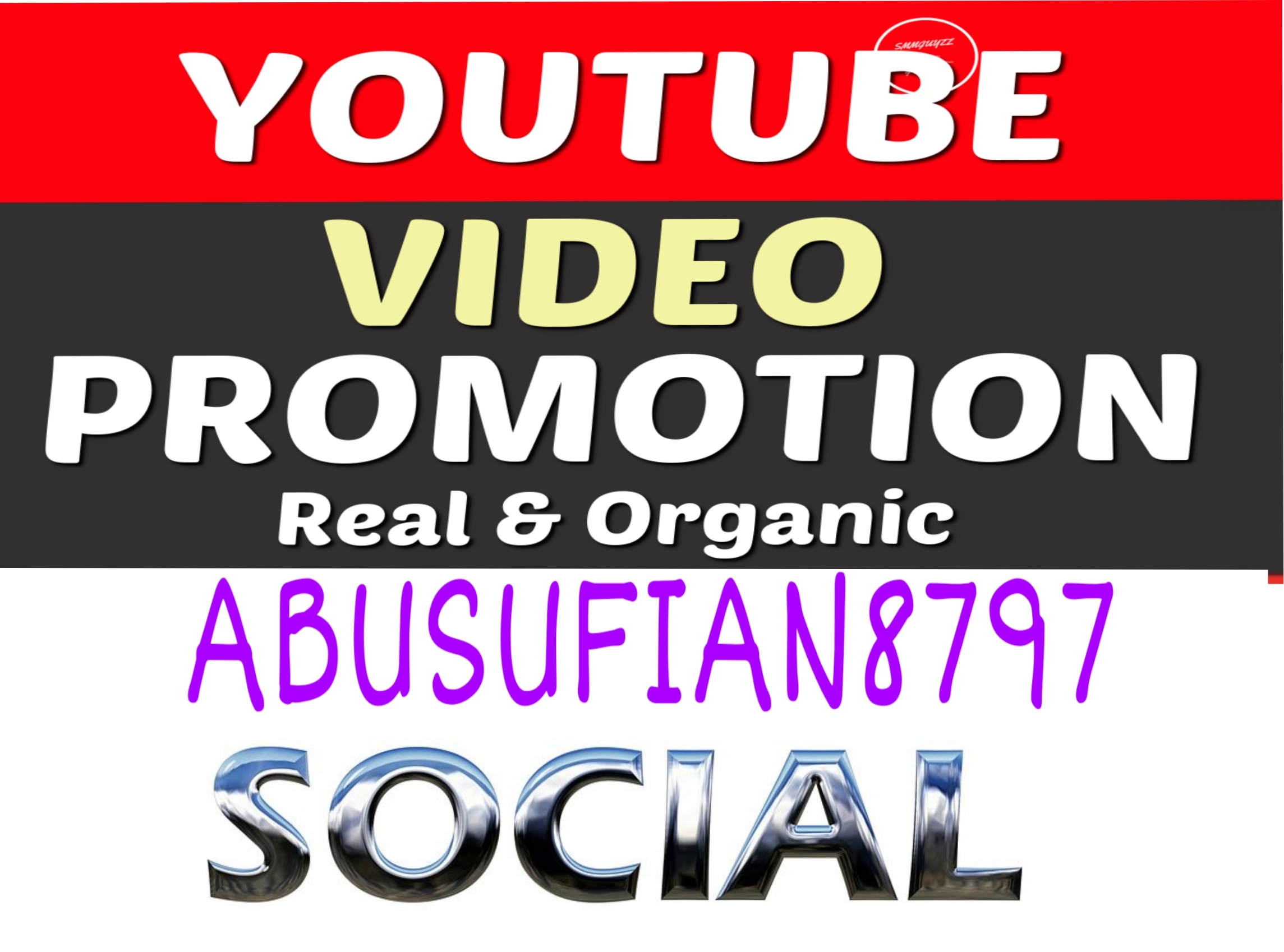 I Will Do Video Promotion Of You Tube Fast