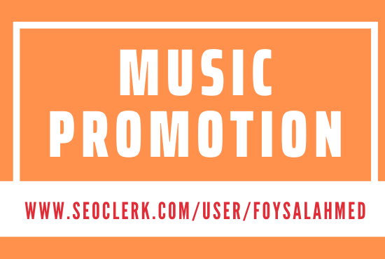 Music Promotion Non Drop Service and Make it Viral in Your Music Track