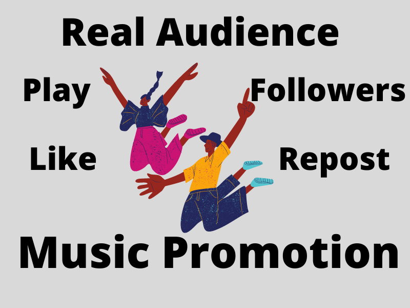 Music Promotion Basic Package for your audio song