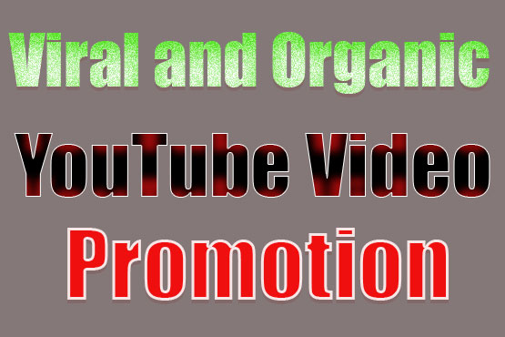 do organic youtube video promotion and seo backlink
