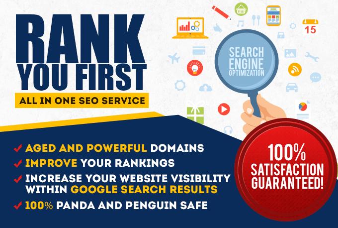 I will do unique domain 110 backlinks high da100 tf100 site