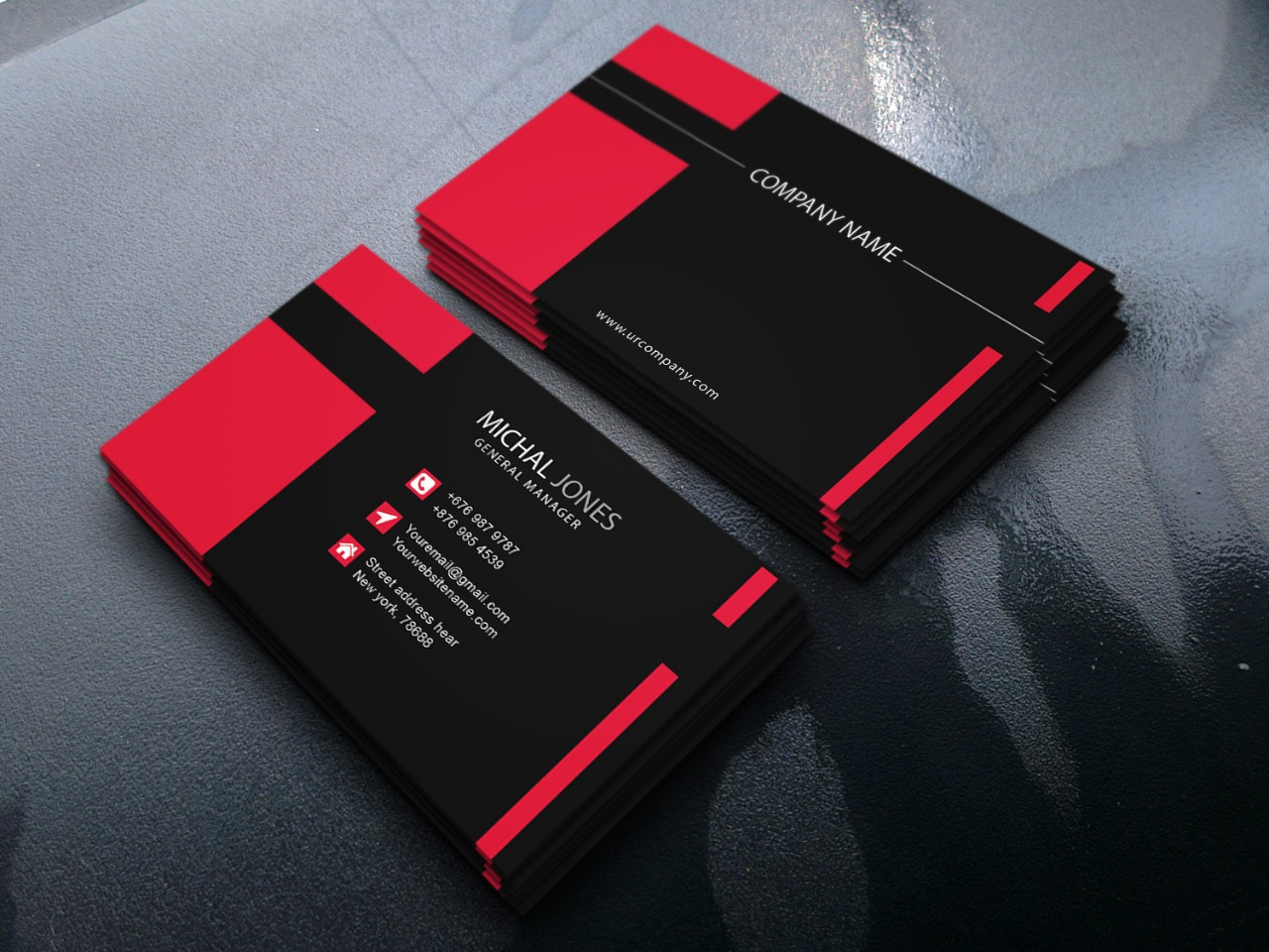 I will create an awesome business card for you