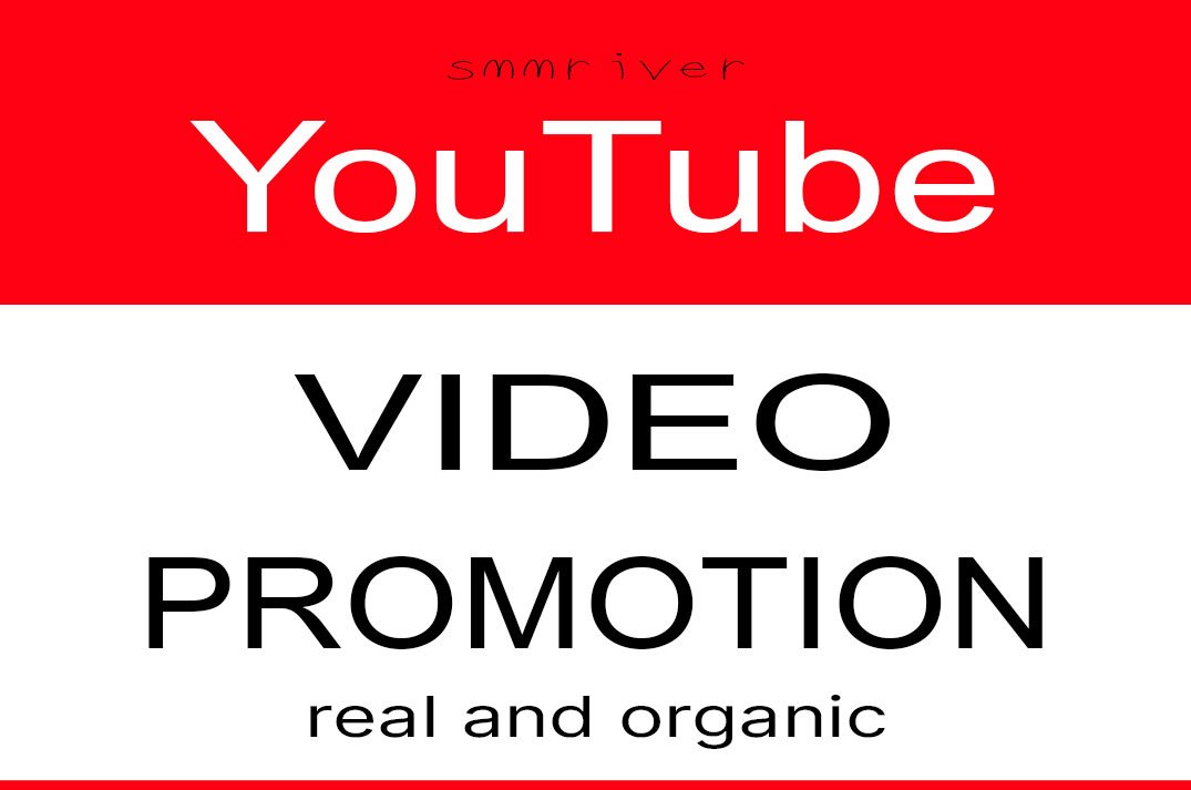 YouTube Video Promotion And Marketing Real Active Audience