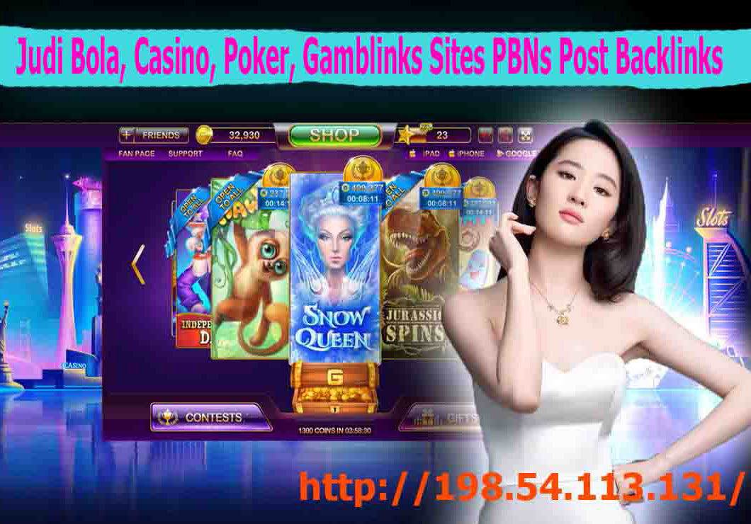 Judi bola,  Casino,  Poker,  Gambling 150 Homepage PBNs Post Backlinks With Unique Content