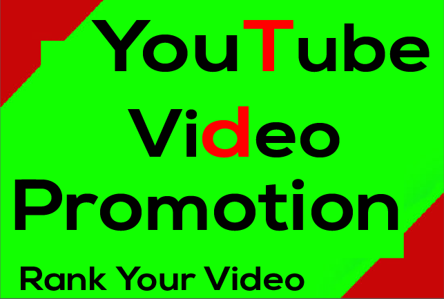 YouTube Video Promotion Organic Growth