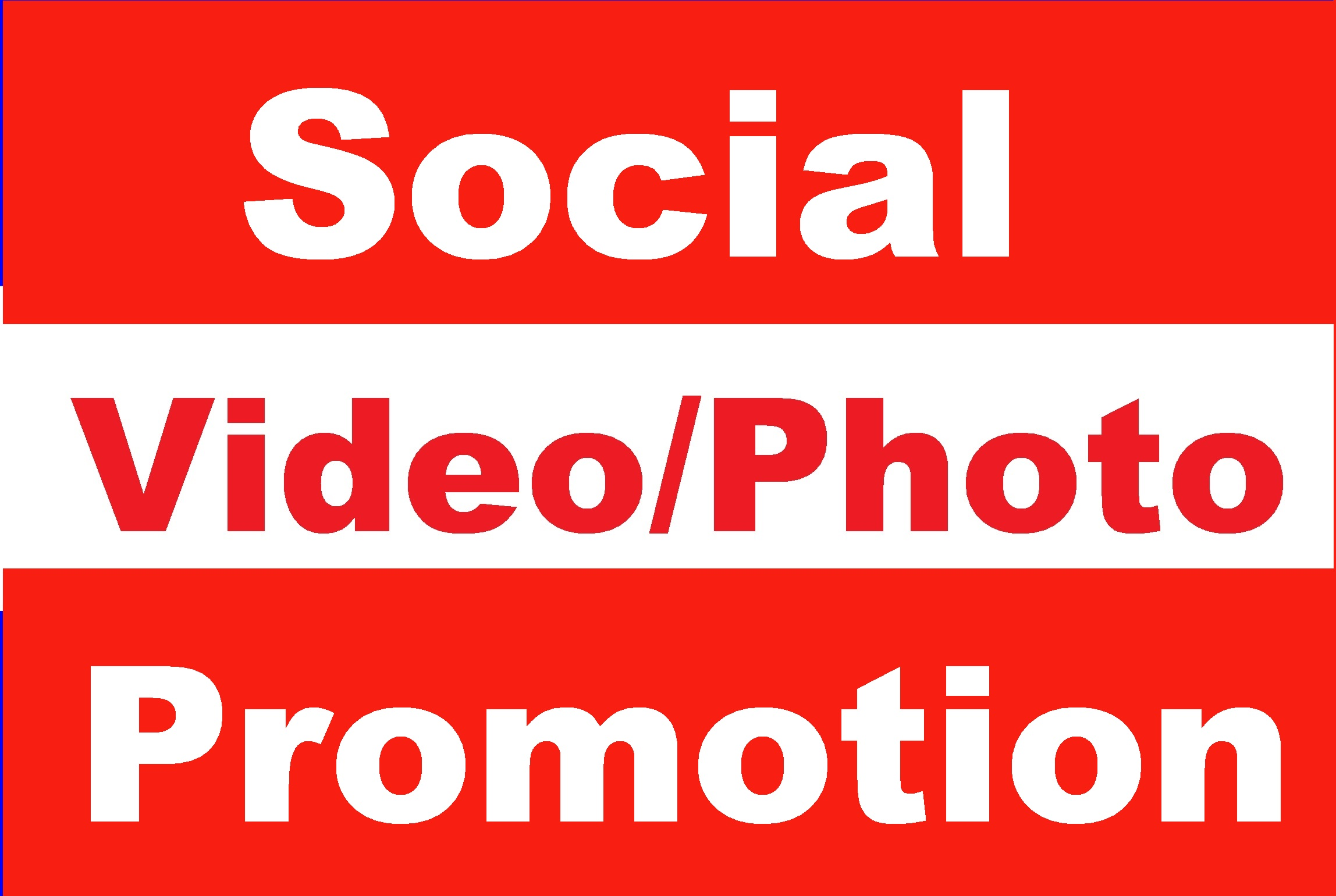 Social Post Or Video Promotion