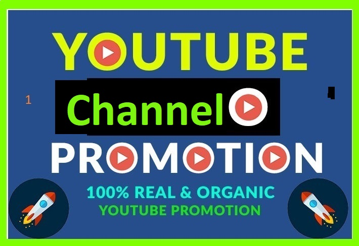 YouTube Account And Chanel Promotion Active Worldwide USERS