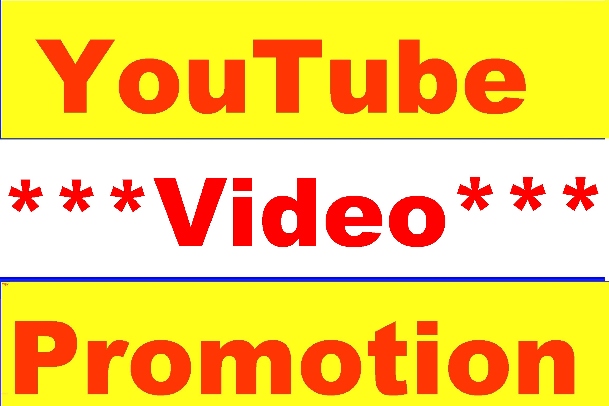 YouTube Video Promotion High Quality Worldwide Real Audience