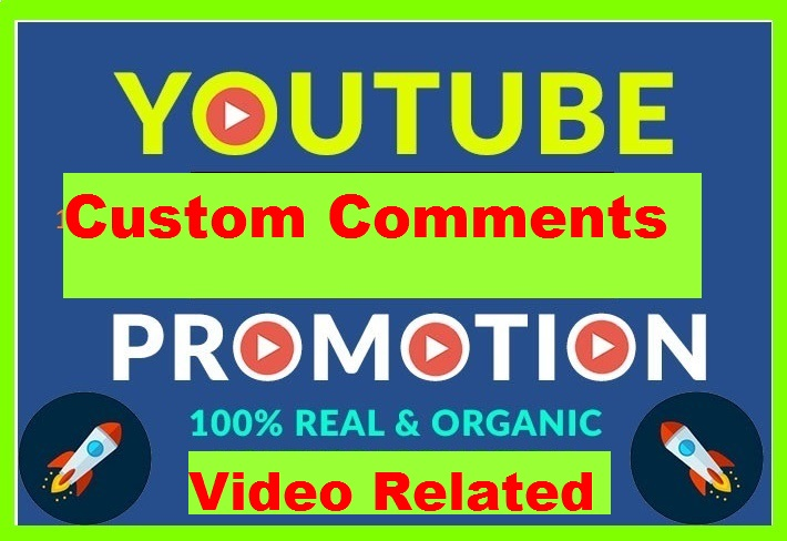 YouTube Video Custom Comments Upvote On Your Videos