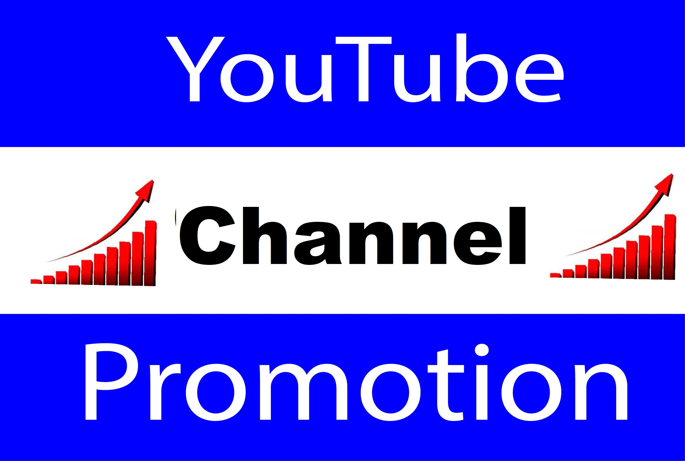 YouTube Manually Account Promotion And High Quality Video Promotion Real User