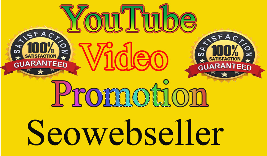 Super offer Organic Youtube Video Marketing Promotion Via Fully Safe