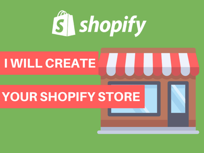 I will setup a professional shopify store,  shopify website
