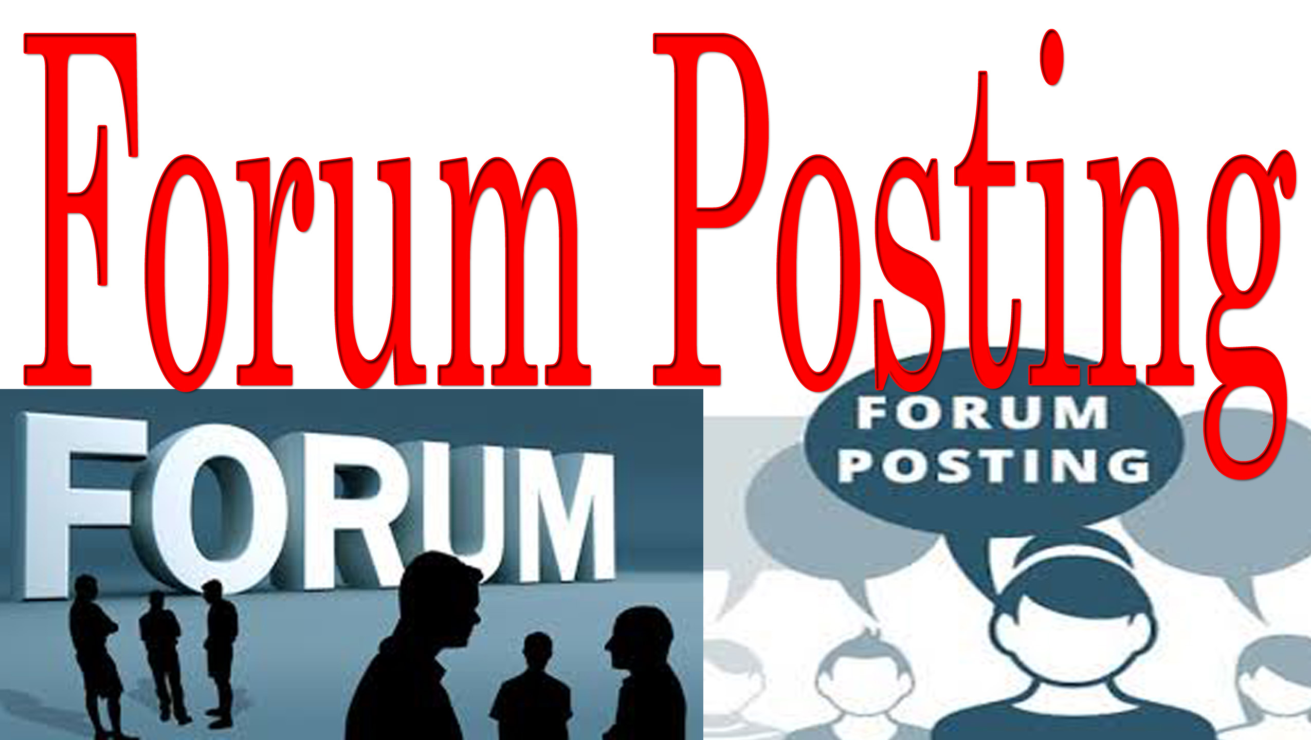 Get Best SERP Results with DA50+ Exclusive 21 Forum Posting Links