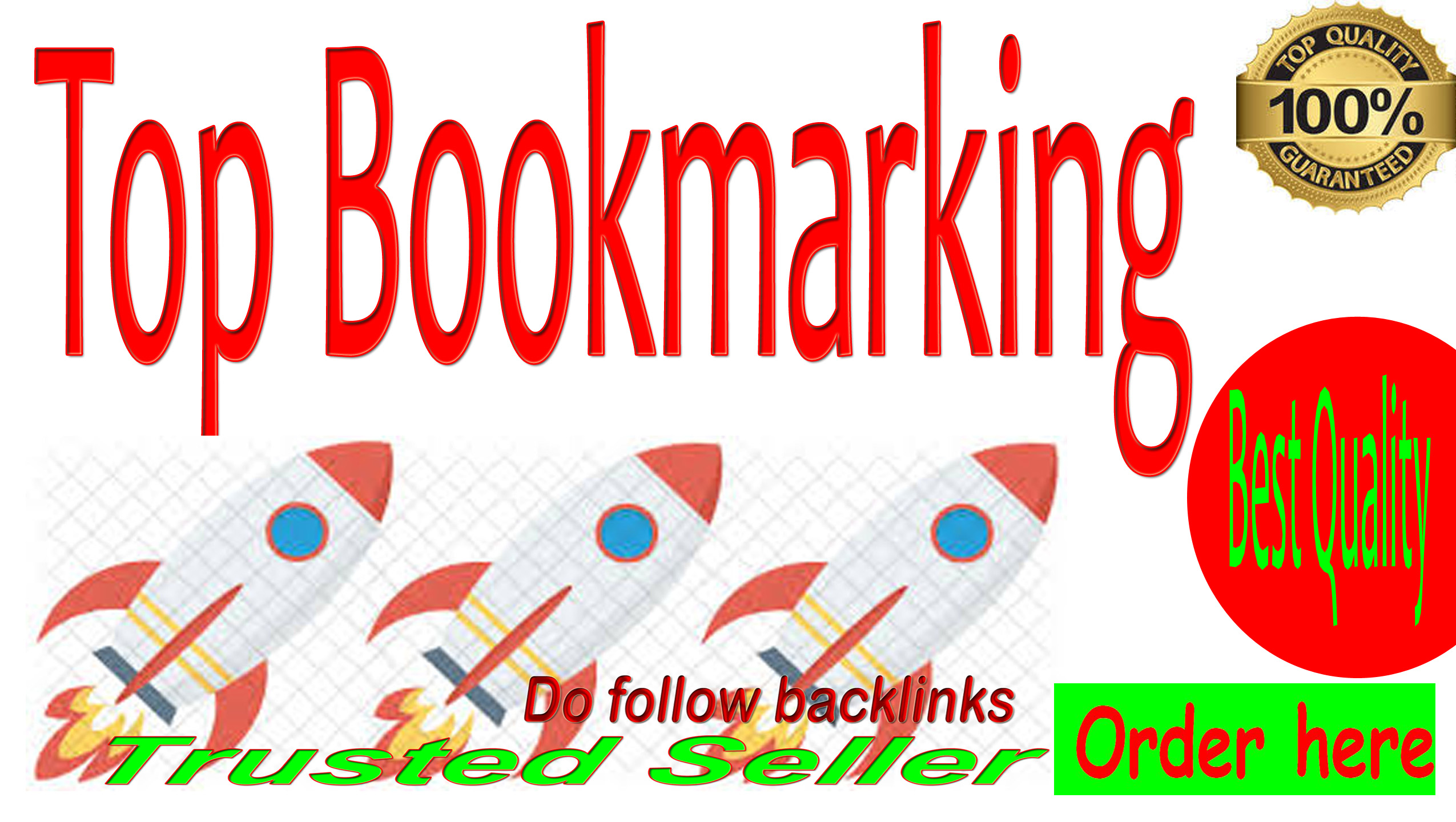 Get Manually TOP 20 Social Bookmarking For your site