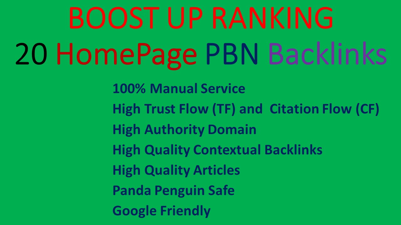 2021 Update Create Manually Permanent Homepage PBN Links with 3000 2nd Tier Backlinks