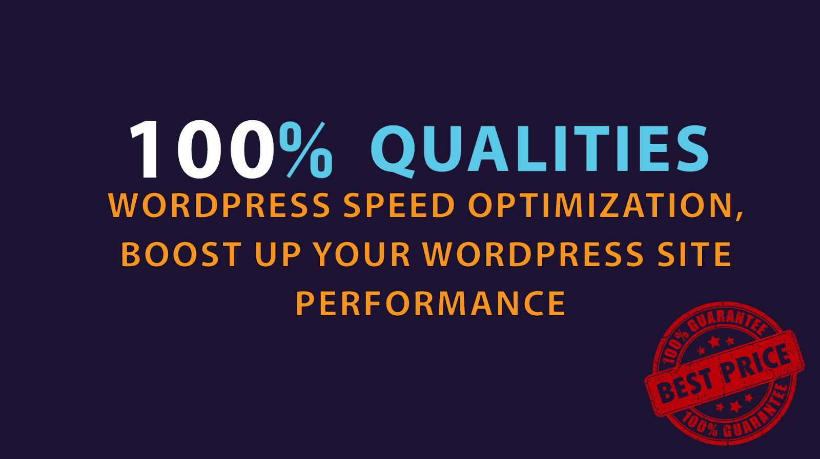 Wordpress Speed Optimization - Guaranteed Change in Download Speed