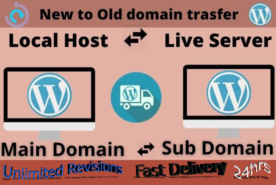I Will Migrate Your WordPress Site and Database Without Loosing Anything