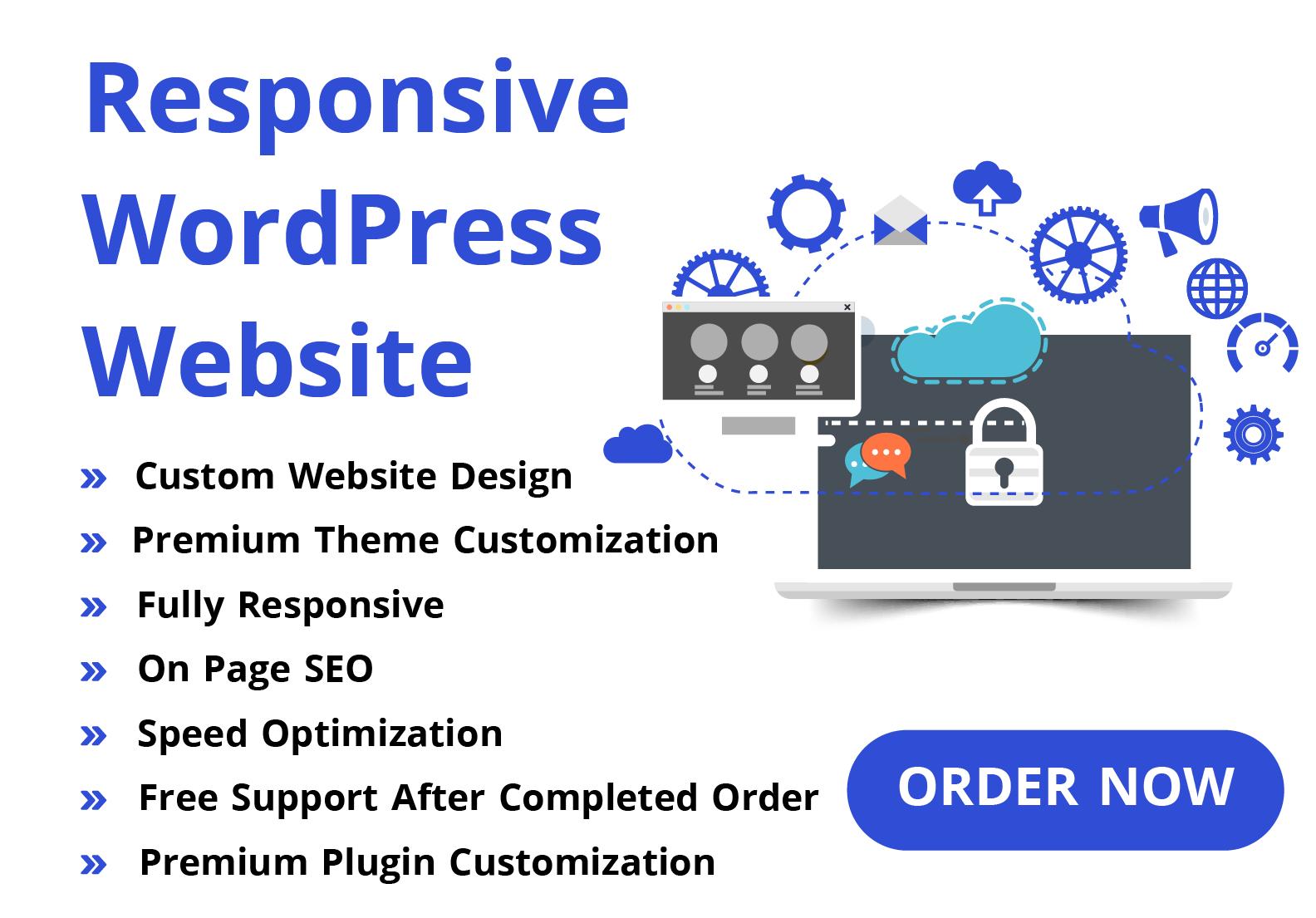 Create SEO Friendly Responsive WordPress Website To Rank Fast